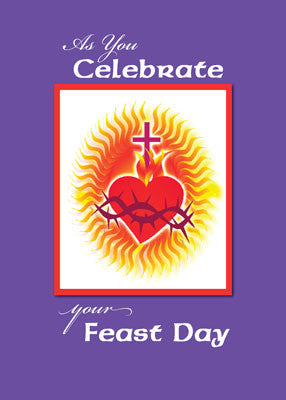 51974 Feast Day Heart Burn with Love