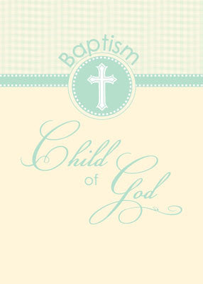51879 Baptism Card Child of God