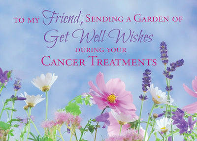 52230T Friend, Get Well Wishes During Cancer Wildflowers