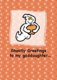 2804C Goddaughter, Ghostly Greetings
