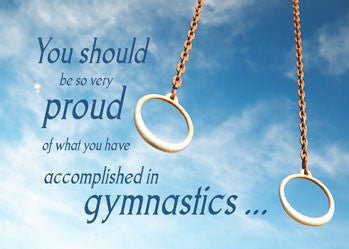 51677 Gymnastics Rings Well Done