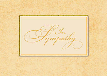 51936 Sympathy Business Condolences Greeting Card