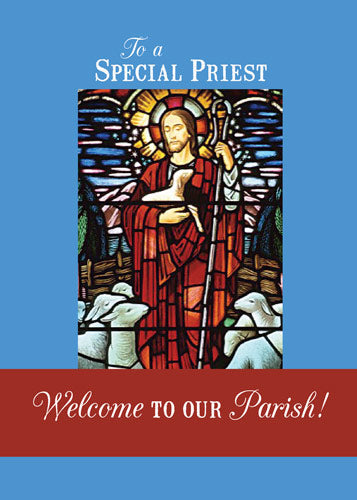 51649D Welcome Priest to our Parish Good Shepherd