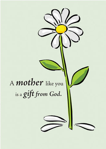 2703AA Mother Thank You, Daisy, Gift from God