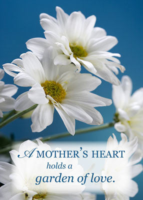 51886 Religious Mother's Day Card Garden of Love