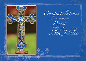 4467 25th Jubilee Priest Cross