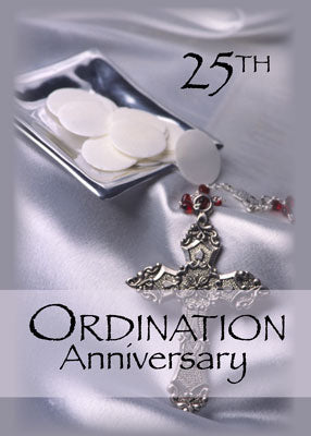 51756 25th Ordination Anniversary Cross Host