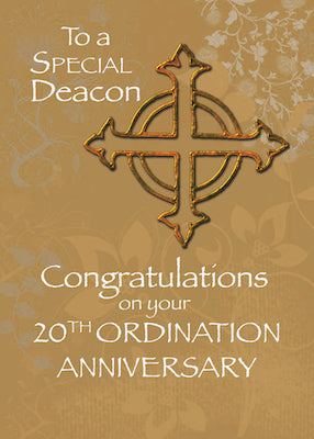 4455A Deacon 20th Ordination Anniversary