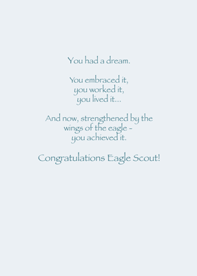 3892 Congrats Eagle Scout Top of Clouds