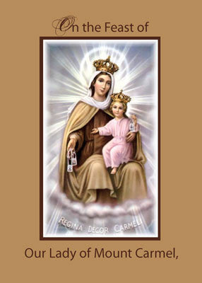 4447 Feast of Our Lady of Mount Carmel