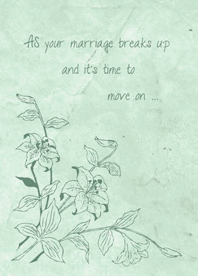 4439 Marriage Break Up Support, Religious
