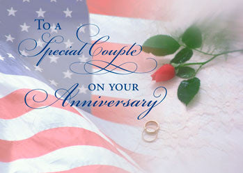 3788A Military Wedding Anniversary