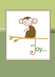 2664 Monkey Enjoy Thinking of You Hello