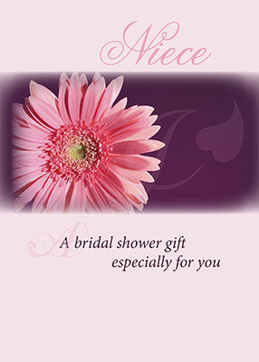 3981G Niece Bridal Shower Pink Daisy