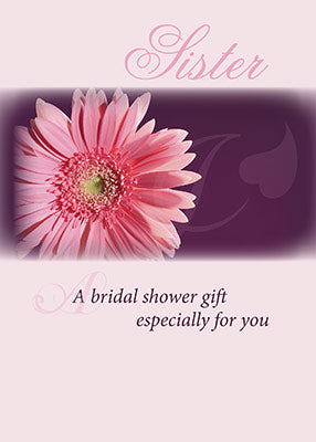 3981H Sister Bridal Shower Pink Daisy