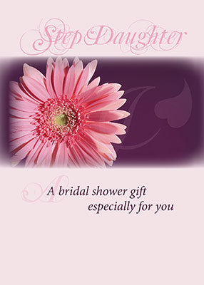 3981J Stepdaughter Bridal Shower Pink Daisy