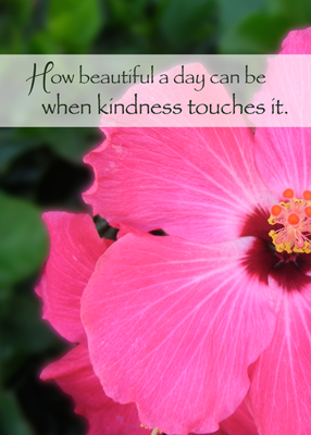 3755 Thank you Kindness Flower