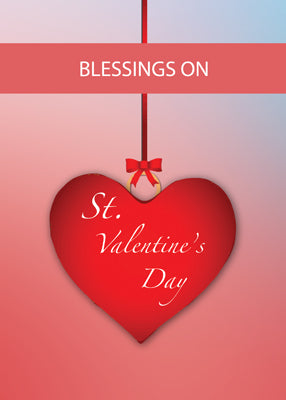 52509 Blessings St. Valentine's Day Heart