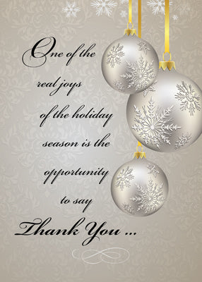 51949B Business Thank You and Holiday Greetings