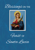 52497 Feast of Santa Lucia Blue