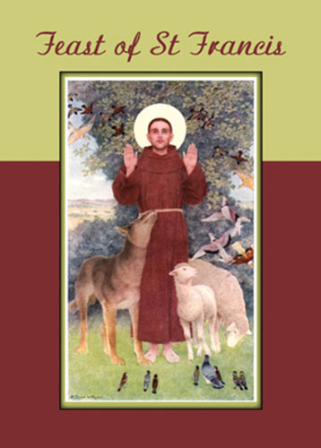 52557 Feast of St. Francis, Animals and Stigmata