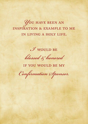 Confirmation sandra rose designs invitation request 51893s will you be my confirmation sponsor dove invitation request thecheapjerseys Gallery