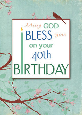 52039 40th Birthday, Bless You, Religious