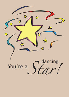 52049 Dancing Star Congratulations