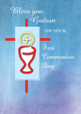 52035 Godson First Communion Blue