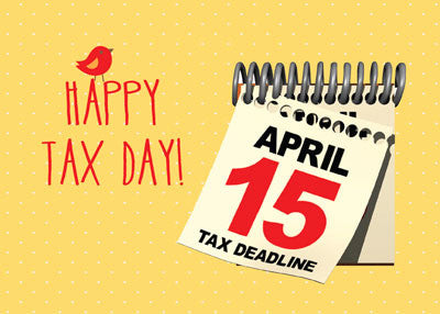 52072 Happy Tax Day, April 15, Humor