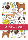 52017 Congratulations on New Dog Mixed Breeds