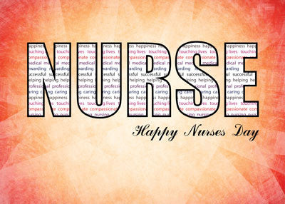 51911L NURSE Nurses Day in Words