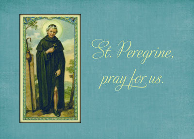 52112 St. Peregrine, Patron Saint of Cancer