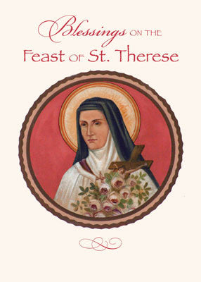 52205 St. Therese of Lisieux Feast Day Blessings