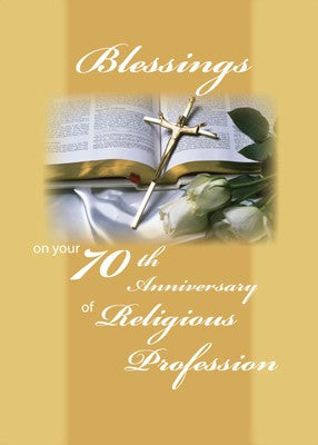 4358 70th Anniversary of Religious Profession
