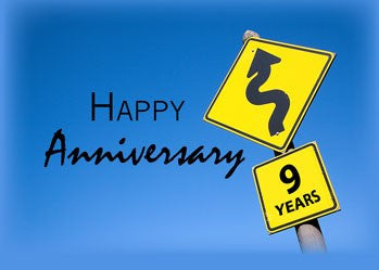 3927 9th Year Employee Anniversary Congratulations