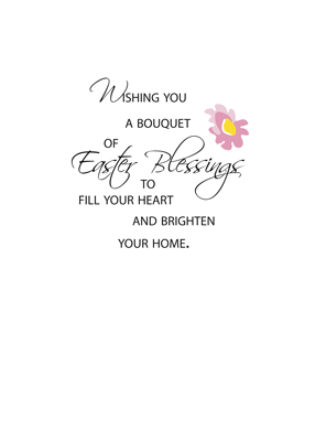 3452 Bouquet of Easter Blessings