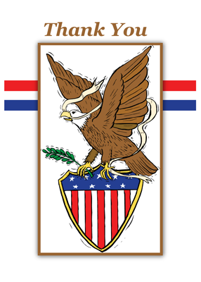3896 Eagle Scout Emblem Thank You