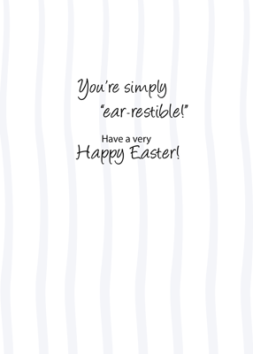 3451 Ear-Resistible Easter