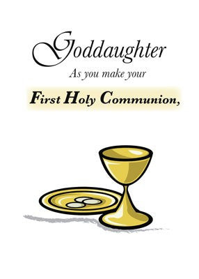 4135 Goddaughter First Communion