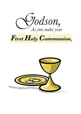 4136 Godson First Communion