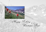 3615 Priest Birthday Mountain Flower