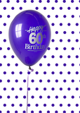 4038 60th Birthday Balloon