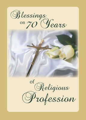 4365 70 Years of Religious Profession Rose, Cross