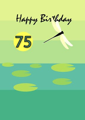 4328 75th Dragonfly Birthday