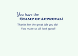 3591 Admin Pro Stamp of Approval Roses