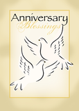 3424 Wedding Anniversary Blessings With Dove