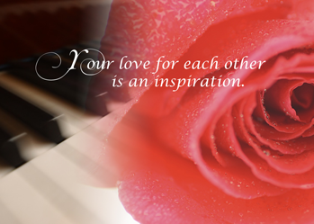 4030 Piano Rose Anniversary