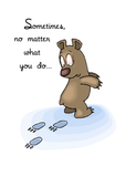 3648 Encouragement Bear Backwards