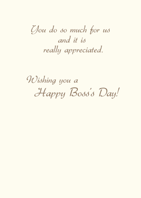 2757 Birds Thank You, Boss for Boss's Day